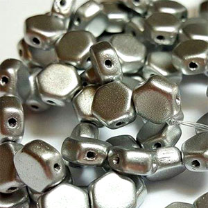 Alum Silver- 30 beads