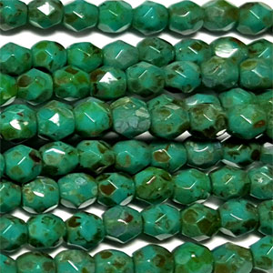 Green Turq Picasso- 50 pcs