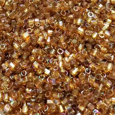 Trans Rnbw Dk Amber 8/0-60 grams