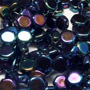Blue Iris Night Sky - 30 beads