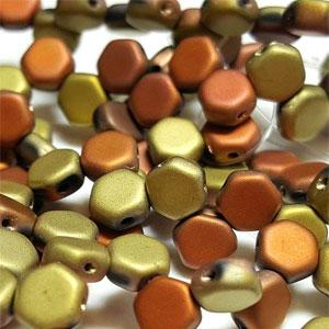 MATT Black Hills Gold - 30 beads