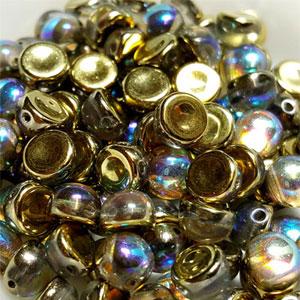 Golden Rainbow - 6mm - 20 pieces