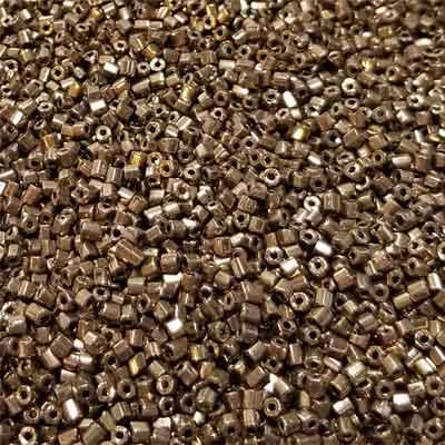 2-Cut Bronze 10/0-50 grams