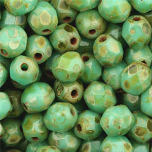 Green Travertin 50 pcs