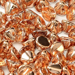 Crystal Capri Gold - apx 50 pcs