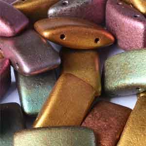 Purple Iris  15 beads