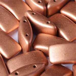 Vintage Copper  15 beads
