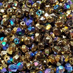 Cry Glittery Amber- 50 pcs