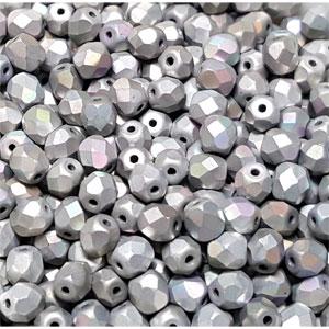 Cry Glittery FLAT Silver AB- 50 pcs