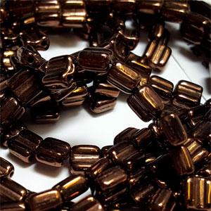 Jet Bronze apx 30 beads