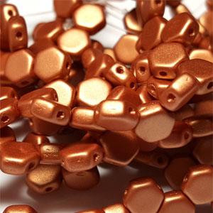Metallic Copper - 30 beads