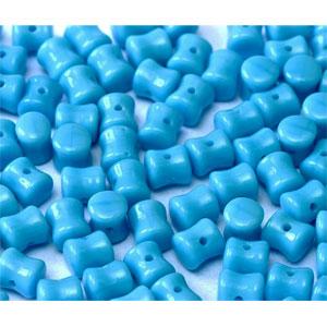 Czech Pellet 4x6mm Turquoise