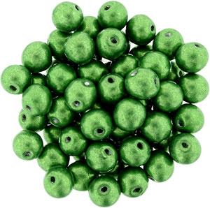 6mm Metallic Kale apx 25 pcs