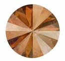 12mm Crystal Copper Rivoli