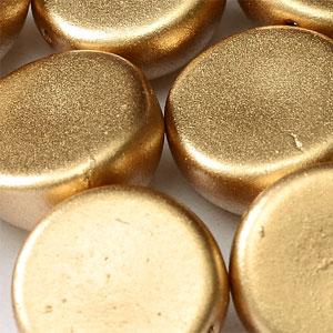 10x6mm-Aztec Gold -10 beads