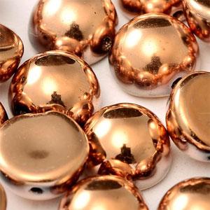10x6mm-Capri Full Gold -10 beads