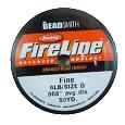 Fireline 6 Lb Smk  on a bobbin