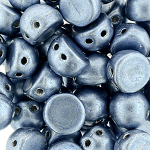 Metallic Airy Blue- 7mm - 20 pieces