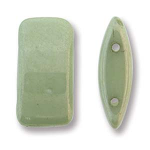Green Luster 15 beads