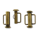 Slide Bar Tube 16.6mm- Brass Plated
