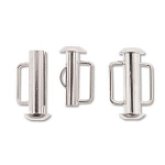 Slide Bar Tube 16.6mm - Silver Plated