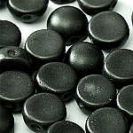 Matt Metallic Black- 6mm - 20 pieces