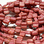 CW Red Luster apx 30 beads