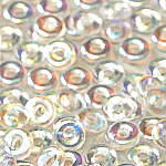 O-Bead 2x4mm size 1.3mm hole, Crystal AB, 00030-28701