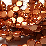 Metallic Copper - 30 beads