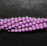 Czech glass pearls, 2mm Lt. Plum, 48257