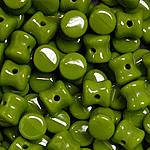 Czech Pellet 4x6mm Opq lime green