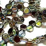 Crystal Graphite- 30 beads