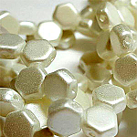 PASTEL White - 30 beads