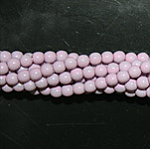 Czech glass pearls, 4mm Lilac, 48224
