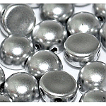 Alum Silver- 6mm - 20 pieces