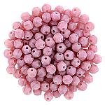 Matt Coral Pink  apx 50pcs