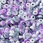 Purple-White apx 14g