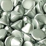 Past Matt Met Silver - apx 50 pcs