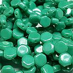 Green Turq Shimmer-30 beads