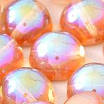 Orange Rainbow -5 beads - 14x8