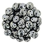 6mm, Hematite, LEN06-ML23980