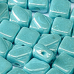 Turquoise Shimmer - 30 pcs