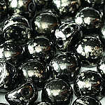 Antique Chrome- 6mm - 20 pieces