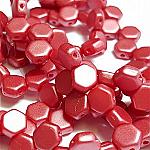 PASTEL Dk. Coral - 30 beads