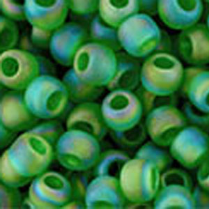 Trans Rnbw Frstd Grass Green  apx 14g