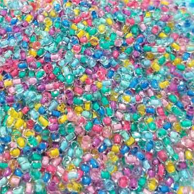 Crystal IC Neon Mix 8/0-56 grams