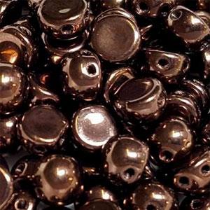 Jet Bronze 6mm - 20 pieces