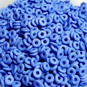 O-Bead 2x4 mm size 1.3 mm hole, Matt Periwinkle, 29568