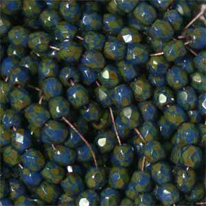 Cobalt Blue Picasso 50 pcs