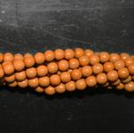 Czech glass pearls, 2mm Khaki, 48193
